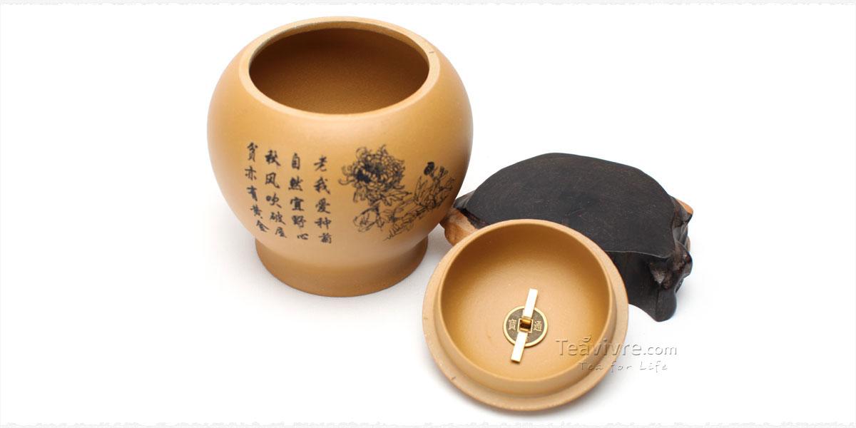 Zisha Tea Tin