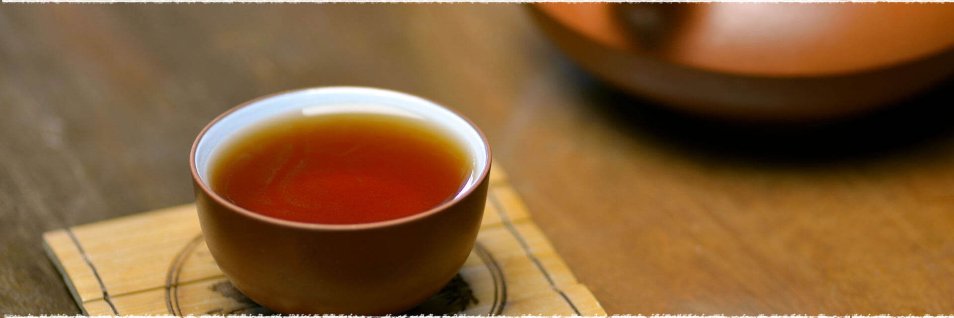 Pu-erh Cake Tea process