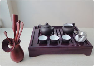prepare tea sets