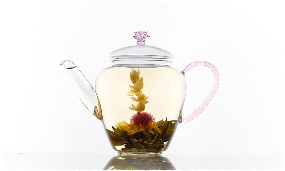 Flower Tea in the Cup