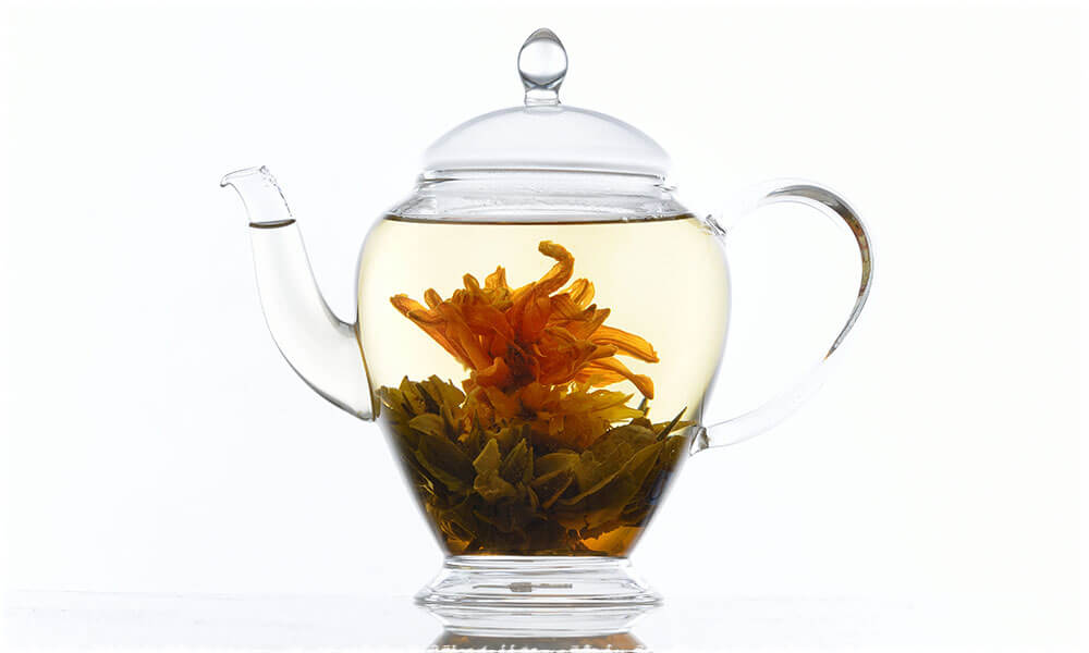 Flower Tea in Teapot