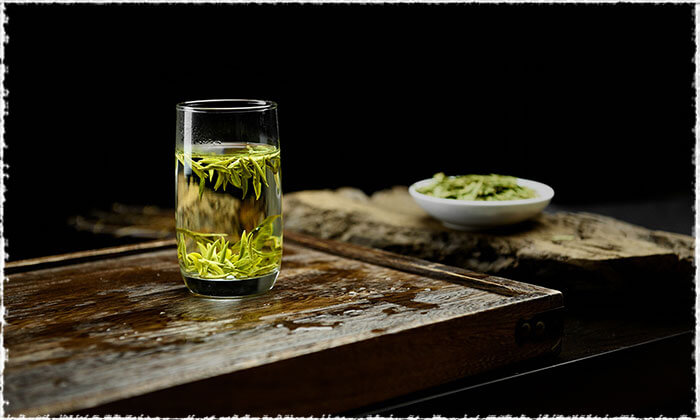 A Cup of Long Jing Tea