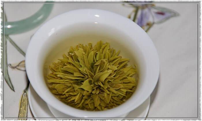 Huang shan green peony tea