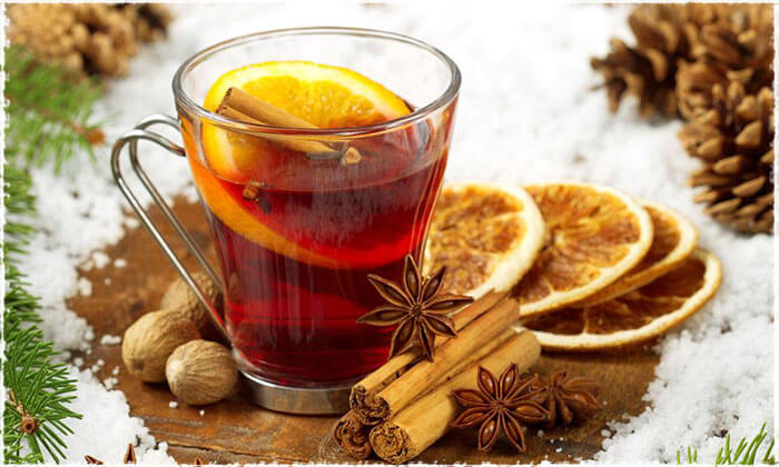Black Tea with Lemon