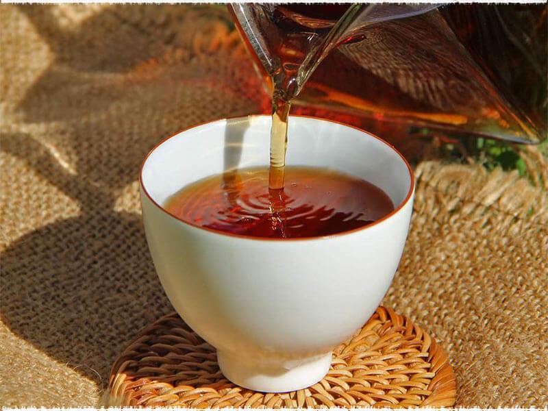 Green Mandarin Orange Pu-erh Tea
