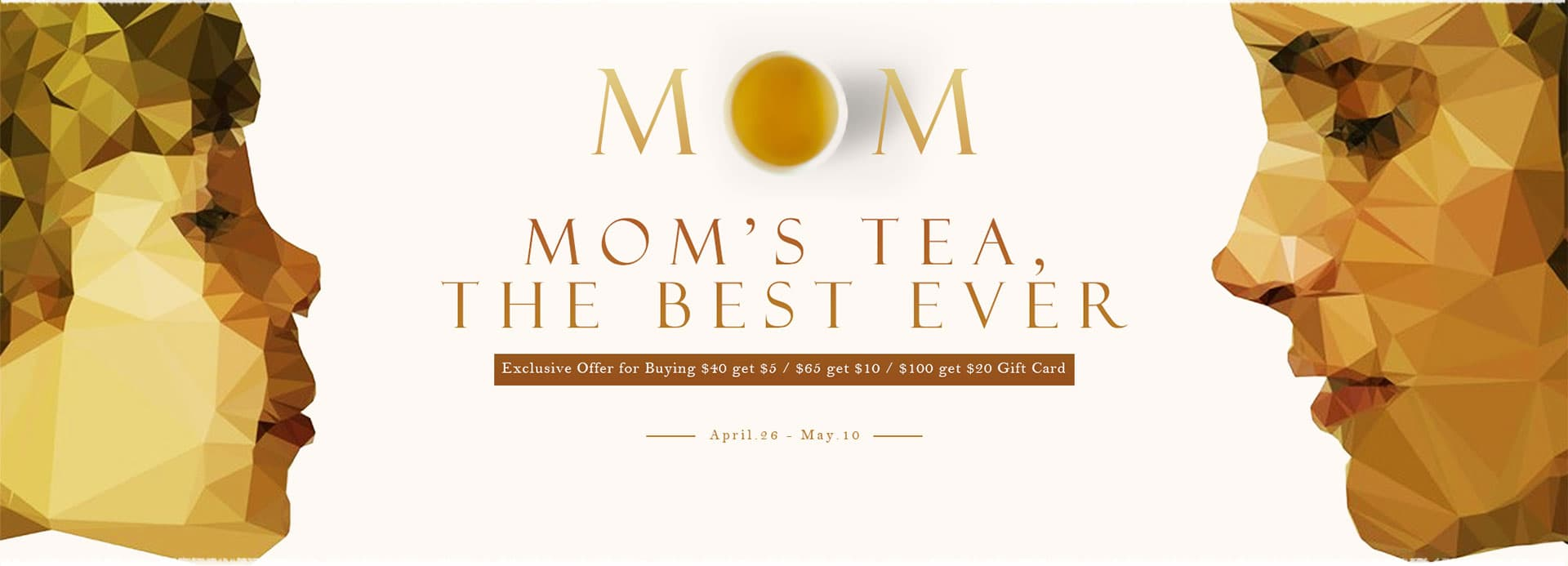 TeaVivre Mother's Day Promotion: Make Orders to Get Gift Cards