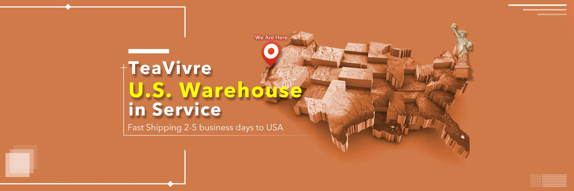 TeaVivre U.S. Warehouse