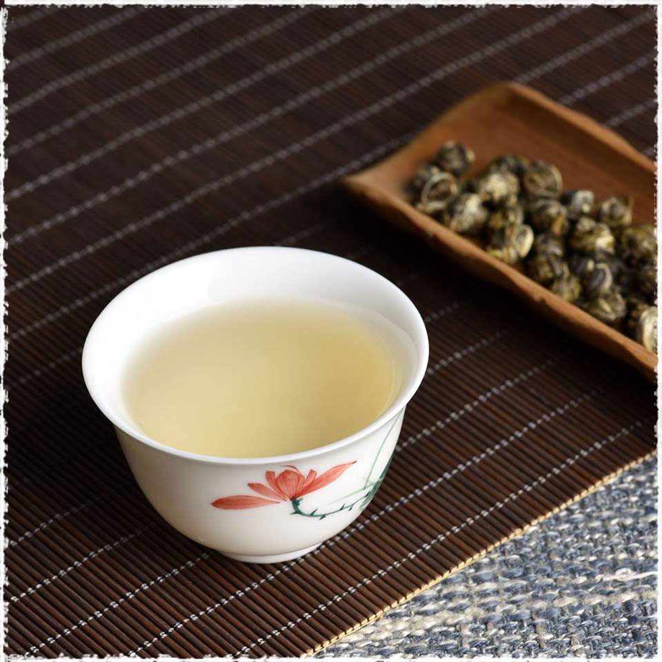 Award Winning Premium Jasmine Dragon Pearls Green Tea