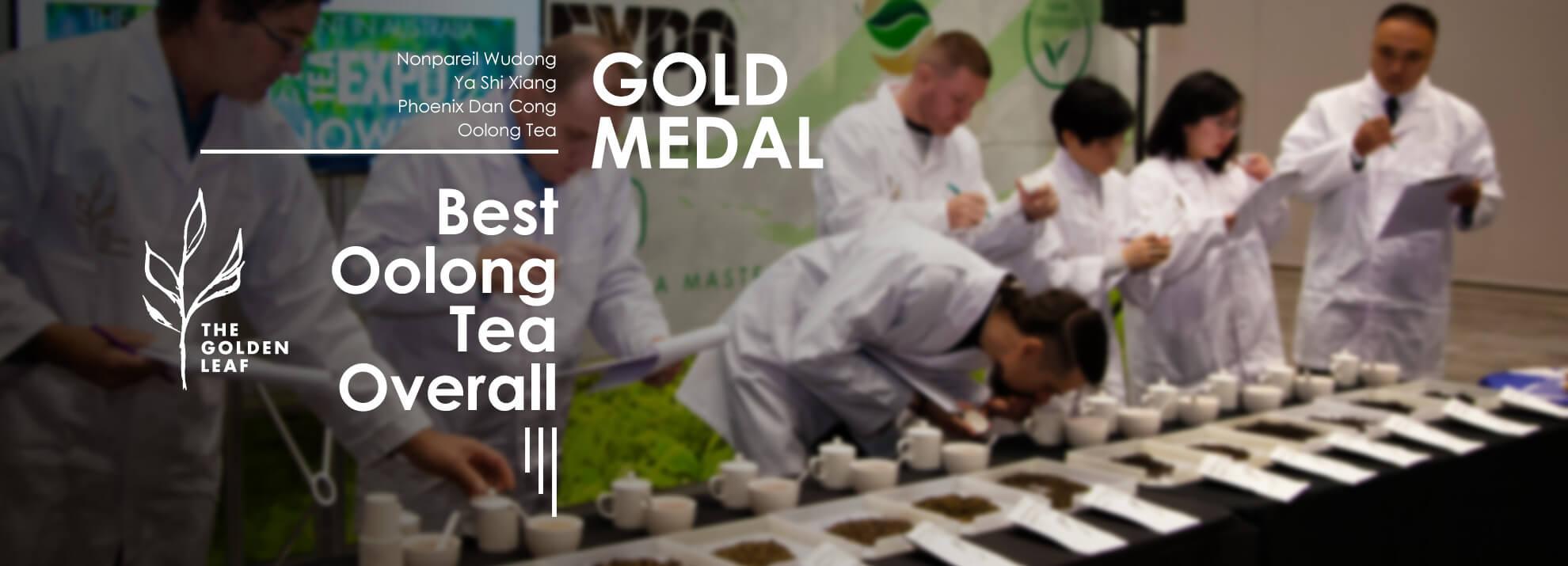 Gold Medal Award – Nonpareil Wudong Ya Shi Xiang Phoenix Dan Cong Oolong Tea