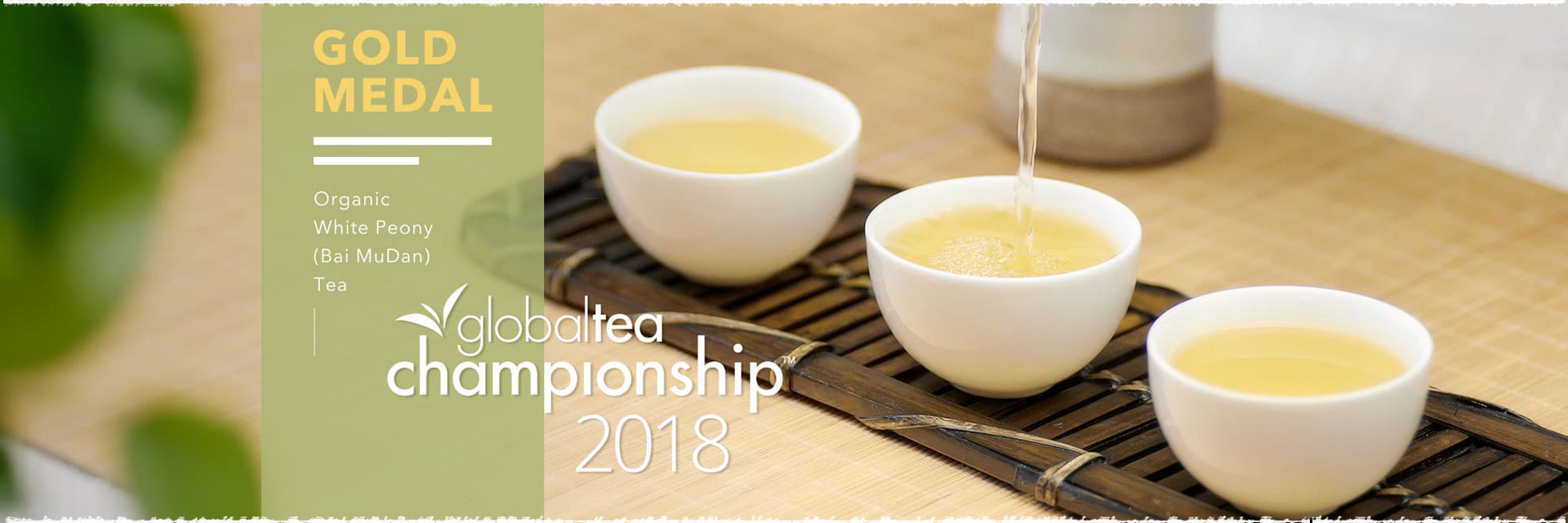 Gold Medal Organic White Peony (Bai MuDan) Tea