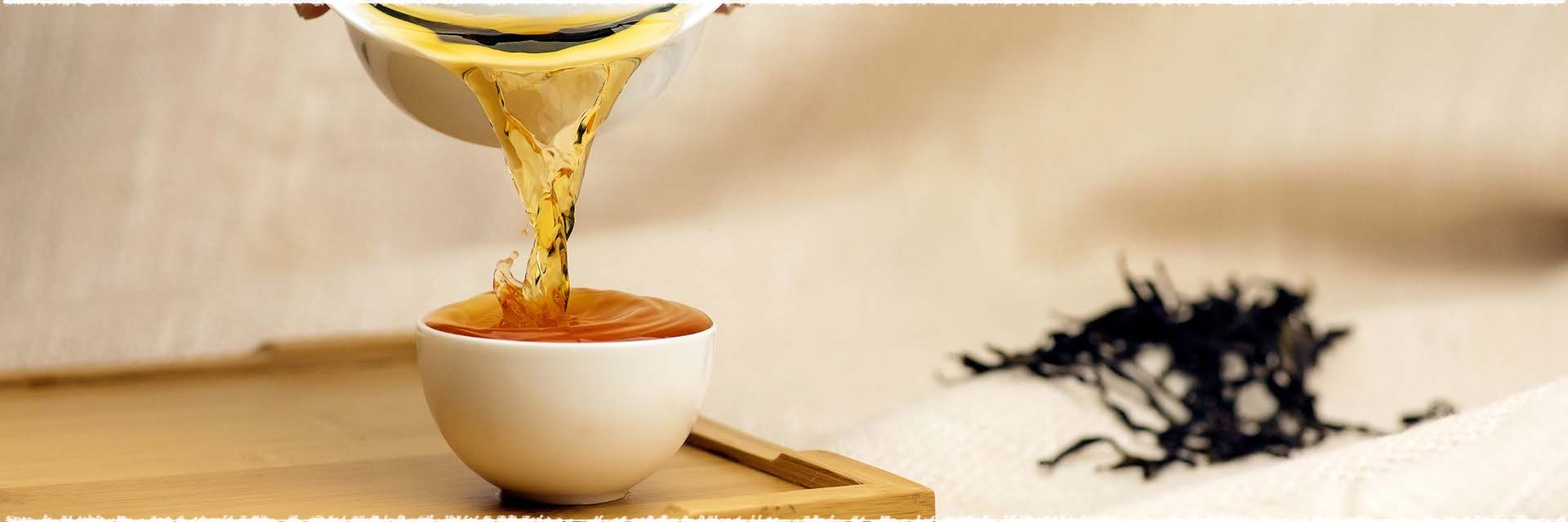 delicous black tea