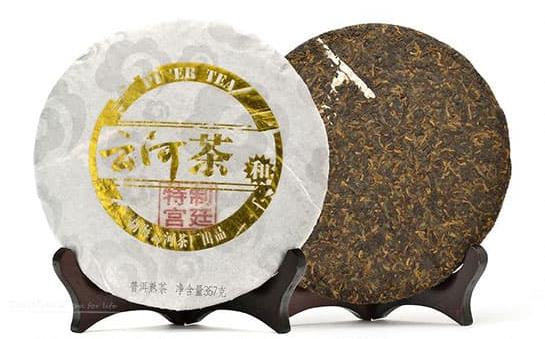 Palace Ripened Pu-erh Cake Tea