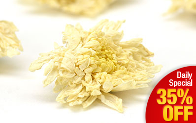 Huang Shan Dried Chrysanthemum (Gongju)