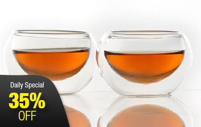 Double-wall Glass Cups 50ml