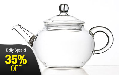 Exquisite Glass Gongfu Teapot 200 ml