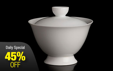 White Porcelain Gaiwan without Saucer