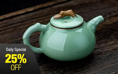 Ge Yao Porcelain Teapot