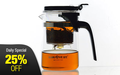 Glass Infuser Tea Cup 500ml