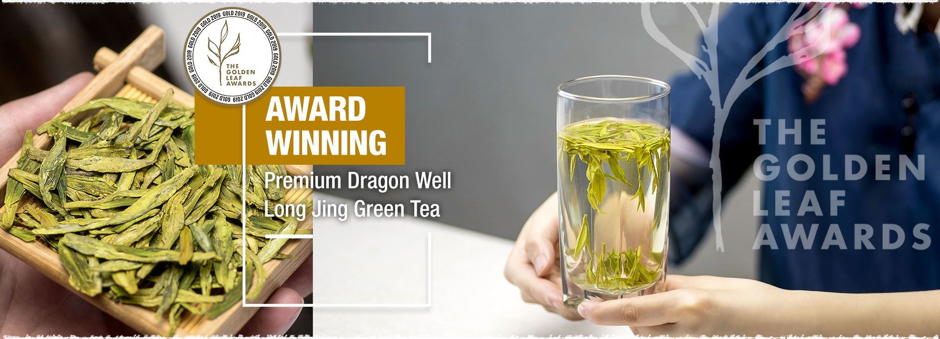 Congrats! Premium Dragon Well Long Jing Green Tea won the Gold Medal