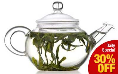 Exquisite Glass Gongfu Teapot 200 ml / 6.8 oz