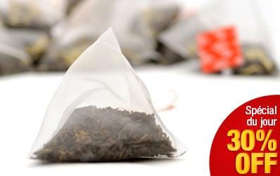 Infusette de Pu Erh cuit : thé du Yunnan en sachet