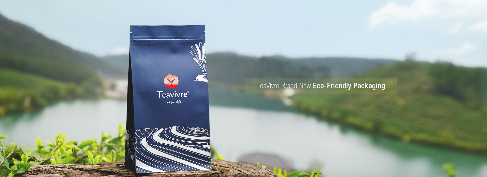 TeaVivre Brand New Designed and Eco-Friendly Packaging