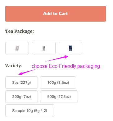 choose eco friendly packaging