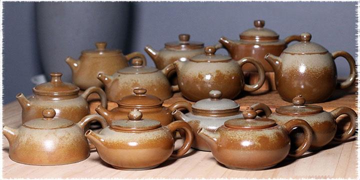 Jianshui Zi Tao Pottery Teapot