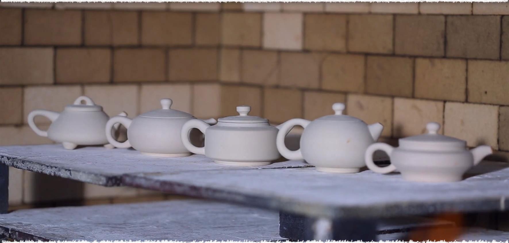Jun Porcelain before Firing
