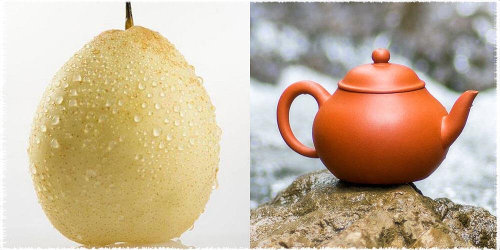 Pear Shaped Teapot