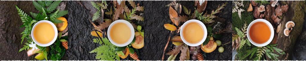 raw puerh tea