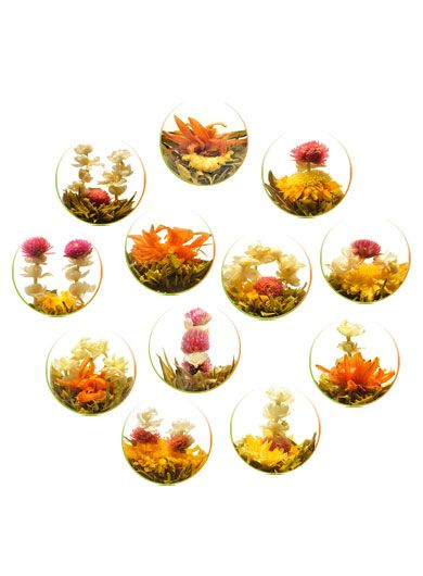 Mixed Flower Teas (Twelve Pieces)