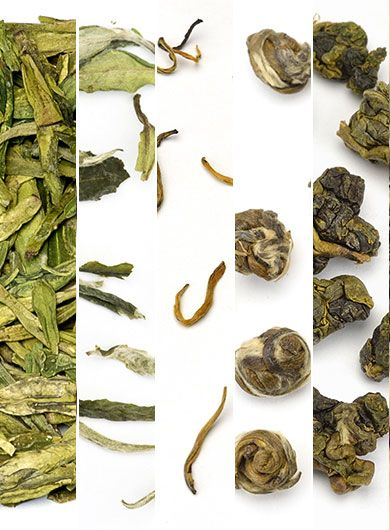 5 Featured Award Winning Teas Assortment Samples