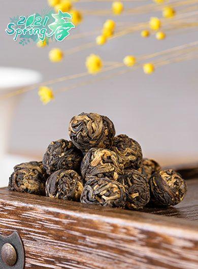 Fengqing Dragon Pearl Black Tea 01
