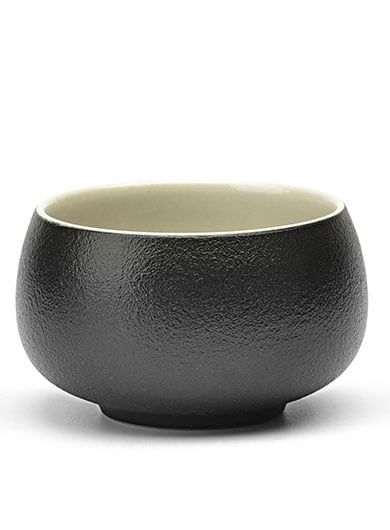 Zen Style (Chan Feng) Black Pottery Tea Cup