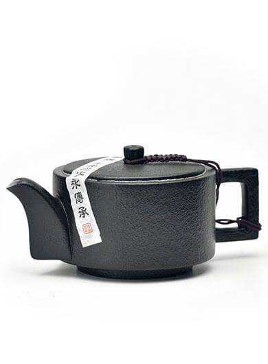 Zen Style (Chan Feng) Black Pottery Teapot