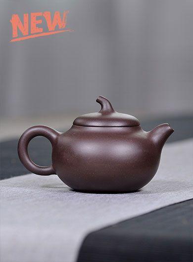 Eggplant Yixing Zisha Teapot