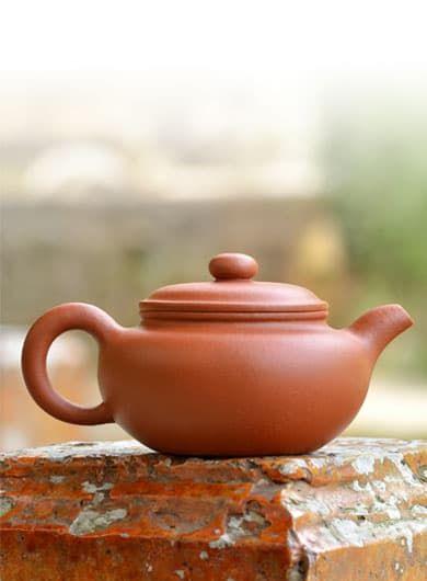 Handmade Antique Style Fanggu Yixing Zisha Teapot