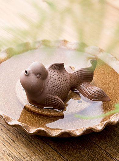 Goldfish Yixing Zisha Tea Pet