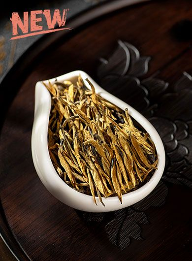 Dian Hong Jin Zhen (Golden Needle) Black Tea