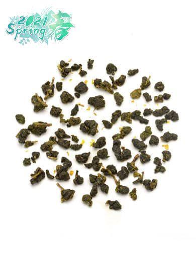 Taiwan Osmanthus Oolong Tea 01