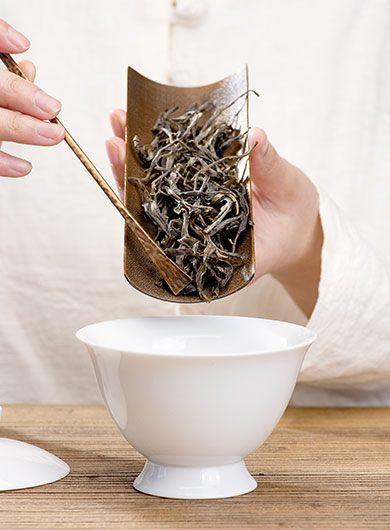 Guo Gan Gushu Ancient Wild Tree Raw Puerh Loose Tea 2020