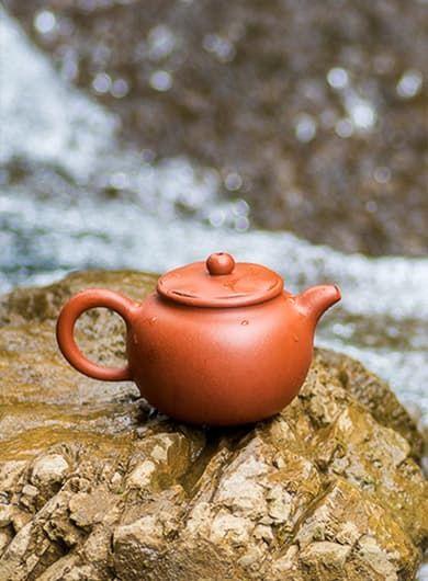 Handmade Lotus Seed Yixing Zisha Teapot