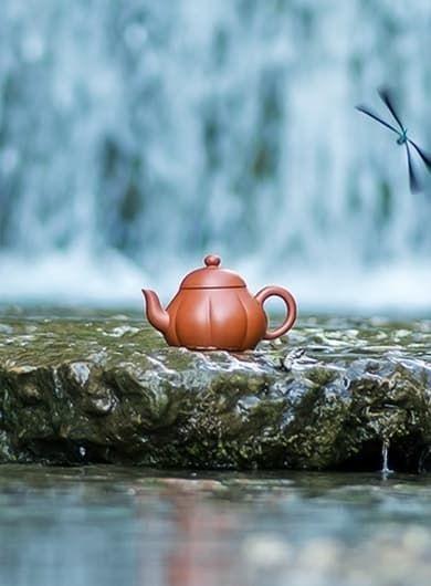 Handmade Shui Ping Yixing Zisha Teapot
