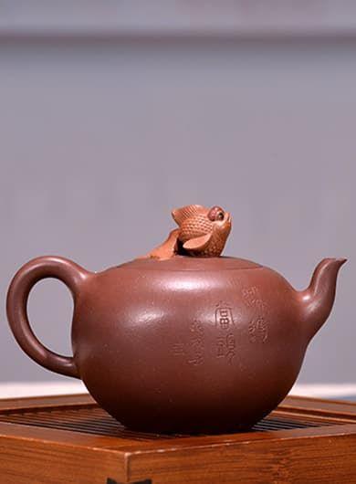 Handmade Hong Yun Dang Tou Yixing Zisha Teapot