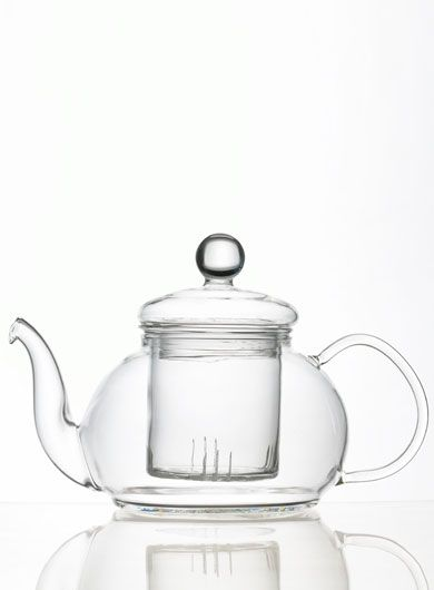 Clear Glass Teapot with Infuser 600 ml / 20.3 oz