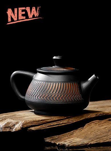 Handmade Jianshui Zitao Pottery Teapot – Shi Piao