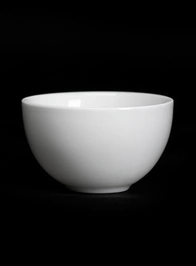 Pure White Porcelain Tea Cup 40ml / 1.35oz Category
