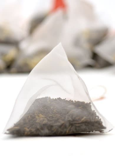 Ripened Loose Pu-erh Pyramid Tea Bag 1