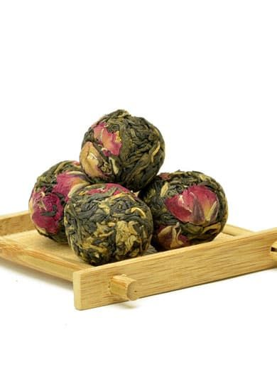 Yunnan Rose Dragon Ball Black Tea